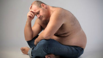 Relación entre el aumento de peso y la felicidad