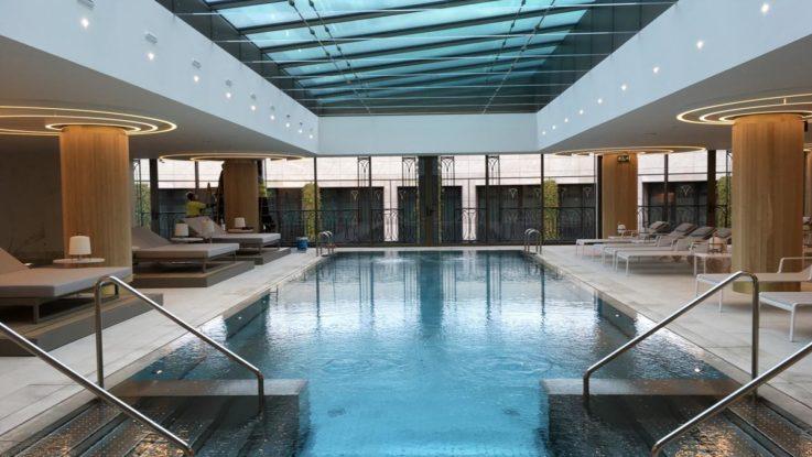 spa urbano del Four Seasons Hotel Madrid