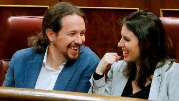 Pablo Iglesias e Irene Montero asesores