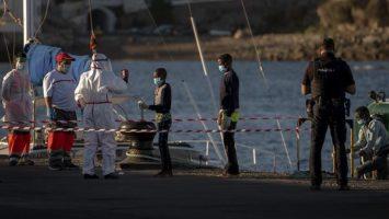 Migración irregular en España