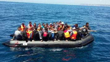 Crisis migratoria en Canarias