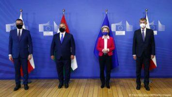 Hungría y Polonia UE fondos
