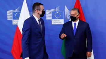 Hungría y Polonia