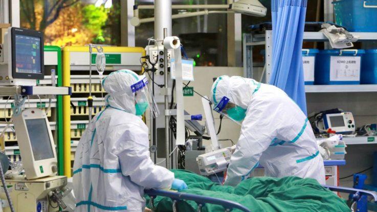 Médicos en Francia durante la pandemia del Covid-19