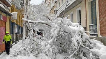 Recomendaciones para sobrevivir la helada en Madrid