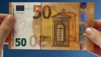 billetes de euro falsos