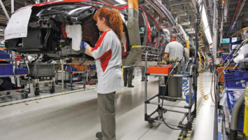 producción de vehículos