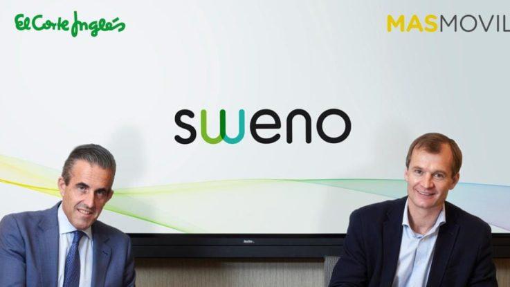 Sweno El Corte Inglés y MásMovil