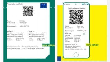Pasaporte Covid para viajar a Europa en verano