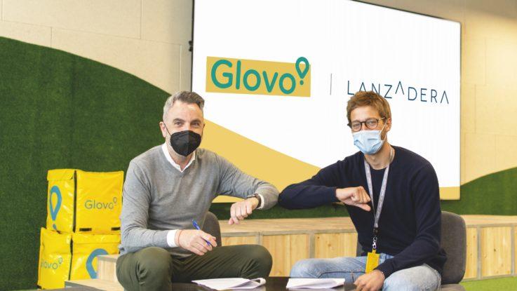 Acuerdo entre Glovo y Lanzadera - Javier Jiménez y Oscar Pierre 1
