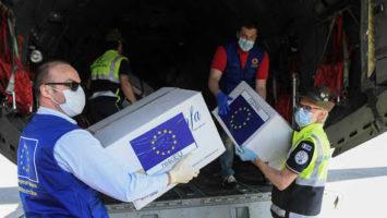 España envia material sanitario a la India